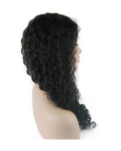 "18"" 2# Water Wave Lace Front Wig pictures & photos"