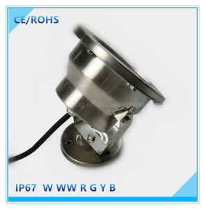 12W Stainless Steel LED Found Light for Fountain pictures & photos