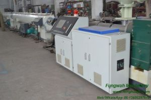 High Efficiency Single Screw Extrusion Line with Price for PE Material pictures & photos