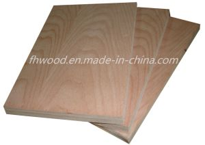 Decorative Beech Veneered Plywood for Furniture and Decoration pictures & photos