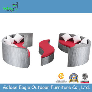 Comb Wicker Outdoor Sofa Garden Round Sofa