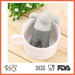 Ws-If050 Mr Tea Infuser Silicone Tea Filter Food Grade pictures & photos