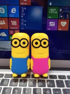 Hot Selling Colorful 2200mAh Portable Minion Carton Power Bank pictures & photos