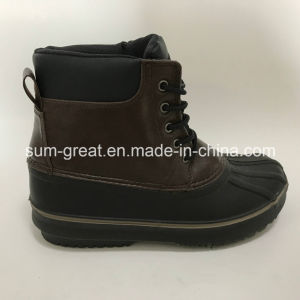 Warm Fashion Kids and Women PU Boots with Top Quality pictures & photos