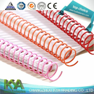 Nylon Coated Spiral Coil Binding for Book Binding Supplies pictures & photos
