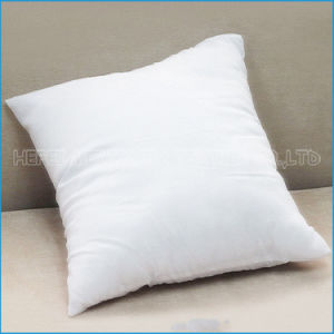 Hot Sell White Super Soft Cushion/Pillow Insert/Inner with Duck/Goose Feathers Filling pictures & photos