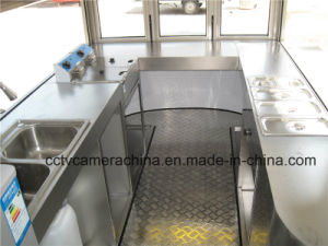 Hot Selling Mobile Fast Food Carts for Sale (SHJ-MCR320) pictures & photos