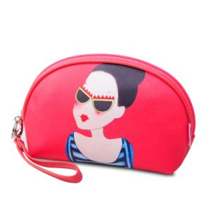 Cartoon Print Fashion Girls Dome Shape Clutch Bags and Wristlet Purse pictures & photos