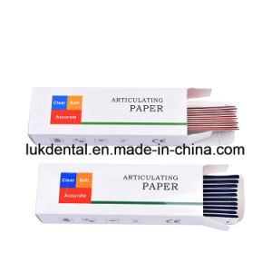 High Quality Disposable Dental Articulating Paper, Occlusion Paper pictures & photos