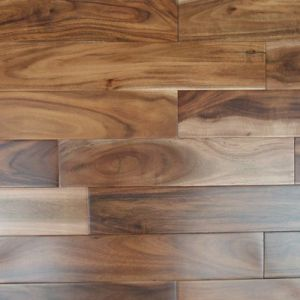 Prefinished Solid Acacia Timber Flooring pictures & photos
