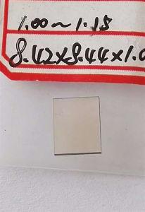 Synthetic Diamond CVD Single Crystal Plates Optical Grade CVD Flake Shape pictures & photos