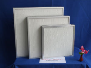Mini Pleated HEPA Filter H13 Aluminum Furnace Filters Operating Room HEPA Filter pictures & photos