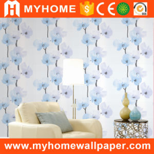 2017 Beautiful Flower Wall Paper for Bedroom pictures & photos