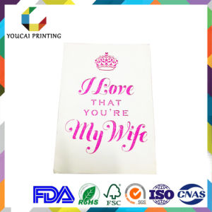 Wholesale Cheap Romantic Greeting Card for Valentine′s Day