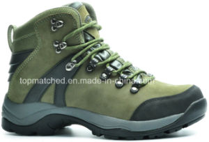 Hiking Safety Boots Woodland Safety Shoes and Genuine Leather Safety Shoes pictures & photos