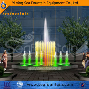 Customized Size Foam Gushing Program Control Fountain pictures & photos