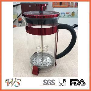 Wschxx044 New Wine-Purple French Press Stainless Steel Coffee Maker French Coffee Press