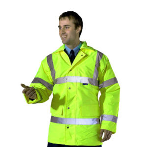 High Visibility Tape Fluorescent Reflecting Safety Jacket pictures & photos