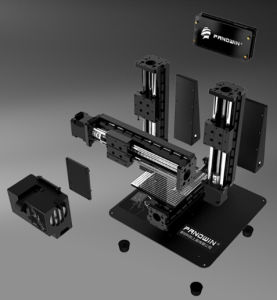 High Precision Assembled and Stable Desktop 3D Printer for Education and Toy pictures & photos