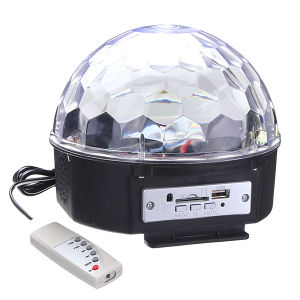 High Quality LED Crystal Magic Ball Disco Magic Light with MP3 Rgbywp LED Stage Light pictures & photos