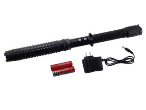 Police Expandable Stun Guns with LED Flashlight pictures & photos