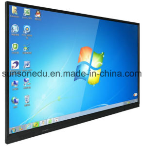 75 Inch All in One IR Multi LCD Touch Screen pictures & photos
