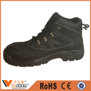 Full Grain Cow Leather Men′s Active Safety Work Shoes pictures & photos