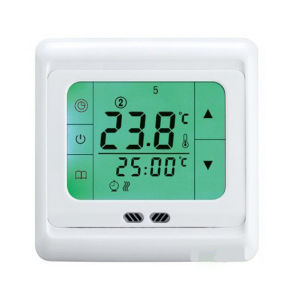 LCD Touch Screen Thermostat for Boiler Heating System pictures & photos