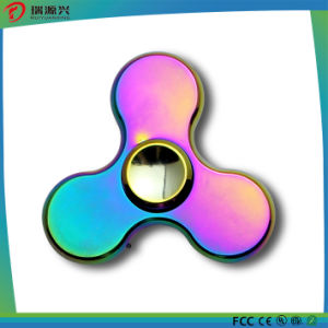 Latest Fidget Hand Spinner Captain America colorful design pictures & photos