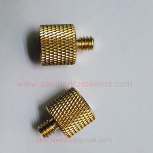 Knurled Thumb Copper Screw for Eletronics/Copper Panel Screw pictures & photos