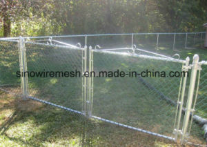 PVC Coated Chain Link Type Temporary Wire Mesh Mobile Fences for Security pictures & photos