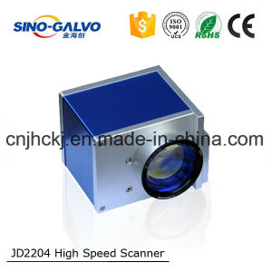 10mm Beam Galvo Jd2204 Head for 20W Laser Makring/Laser Engraving/Laser Cutting pictures & photos