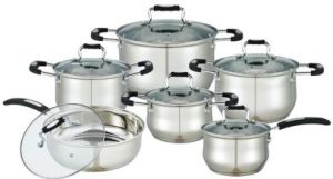 12 PCS Cookware Set with Silicone pictures & photos
