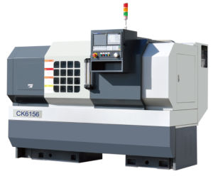 CNC Lathe with Flat Hardened Rail Ek6156X2000