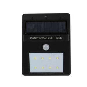 8-LED Solar Powered Motion Sensor LED Lamp Weatherproof Light SL1-38-8 pictures & photos