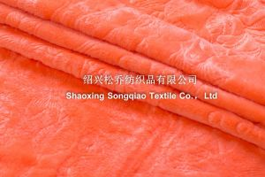 Embroidered Coral Fleece Blankets / Double Coral Fleece 2 pictures & photos