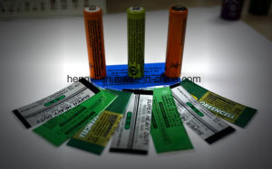 PVC Film Label Printing pictures & photos