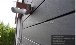 China Easy Installation Environmental Friendly Wood Plastic Composite Wall Panels for Outdoor pictures & photos
