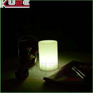 Hotel Use LED Lighting Cylinder Luminaire Table Lamp pictures & photos