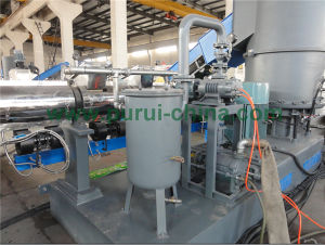Heavy Printed PE Film Plastic Recycling Machine for Film Granulating pictures & photos