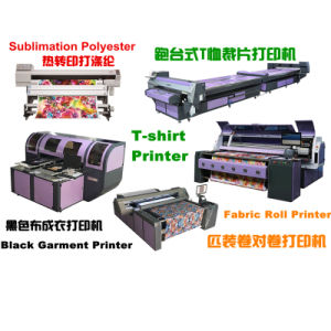 Multifuctional Pigment Digital Printing Machine for Textile Fabric pictures & photos