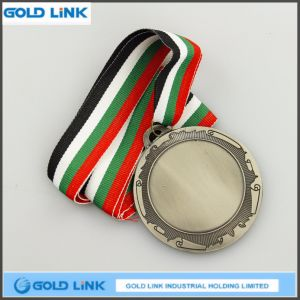 Sports Medal Custom Antique Silver Medal Coin Promotion Gift pictures & photos