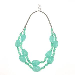 Shapped Acrylic Beads Necklace