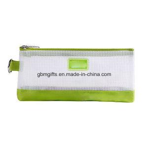 Portable A5 A6 B4 A4 B5 Clear Zipper File Bag
