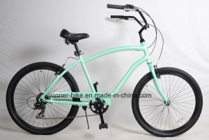 Shimano 7 Speed Alloy Frame Mens Beach Cruiser Bicycle pictures & photos