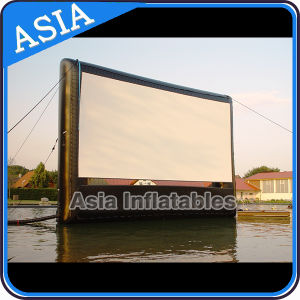 Cheap Inflatable Floating Movie Screen / Inflatable Waterproof Movie Projection Screen / Inflable Movie Screen pictures & photos