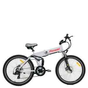 "20"" Full Suspension Folding Electric Bicycle pictures & photos"