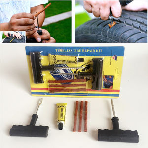 Auto Car Tire Repair Kit Car Bike Auto Tubeless Tire Tyre Puncture Plug Repair Tool Kit pictures & photos