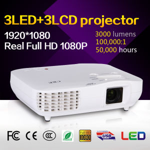 High Definition Portable LED LCD Projector pictures & photos