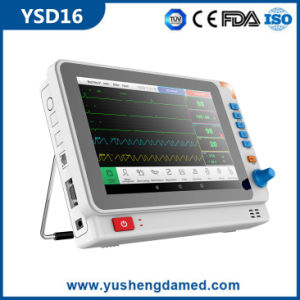 Medical Equipment 10.1 Inch Wide Screen Display Portable Patient Monitor pictures & photos